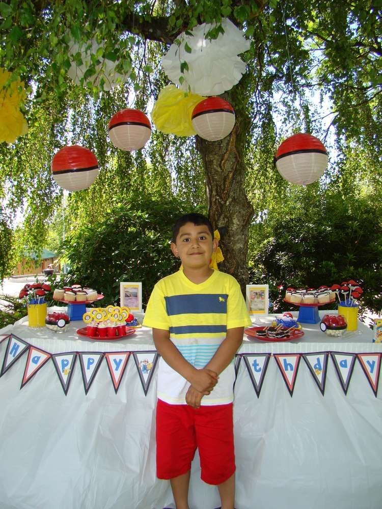 Pokemon Birthday Party Ideas | Photo 4 of 21 | Catch My Party