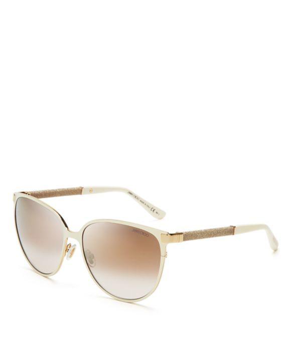 f63b76abf2d6 Jimmy Choo Mirrored Posie Sunglasses | Bloomingdales's | Style ...
