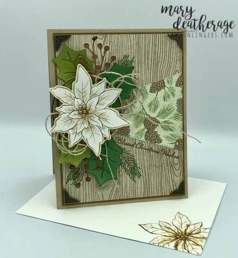 Stampin' Up! Itty Bitty Christmas Poinsettia Petals Sneak Peek