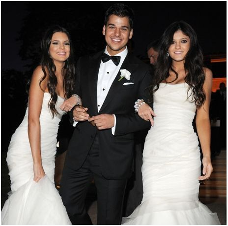 Kylie, Kendall Jenner & Rob Kardashian
