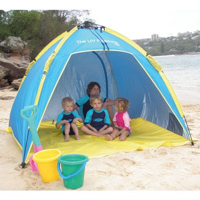 Shelta UV Protector Beach Shelter and Sun Tent.  sc 1 st  Pinterest & Definitely going to need to get one of these for the grandbabies ...