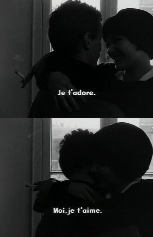 Vivre Sa Vie Jean Luc Godard 1962 Vorbe Film Quotes Movie