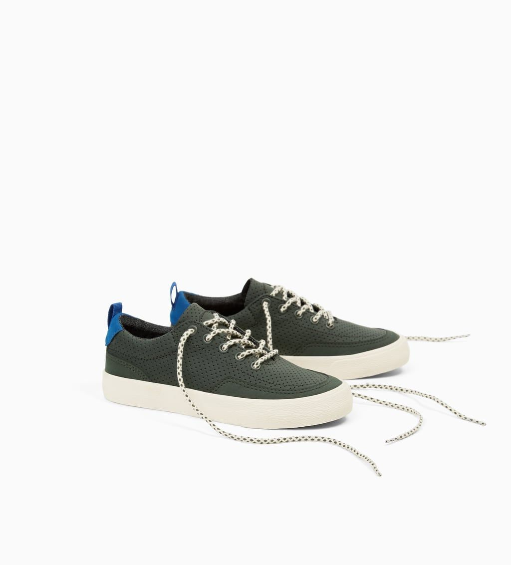 cheap for discount 9d482 639f6 Shoes Zara Plimsolls Sneakers Perforated United Kids Boy Micro 4TqgFzw