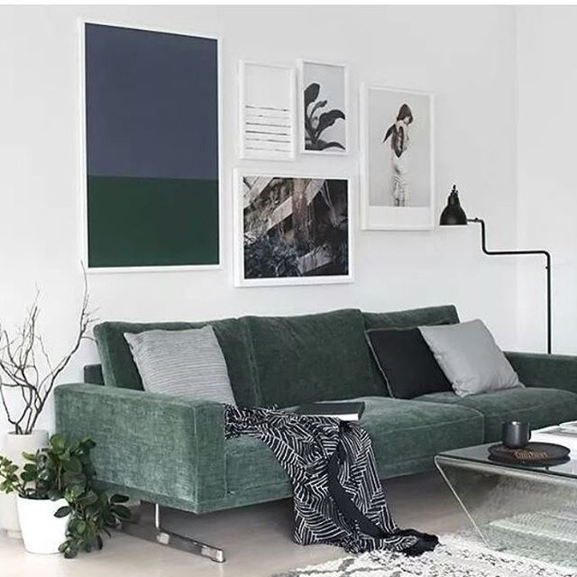 Embrace The Forest Green Trend Interiordesign Mydomaine