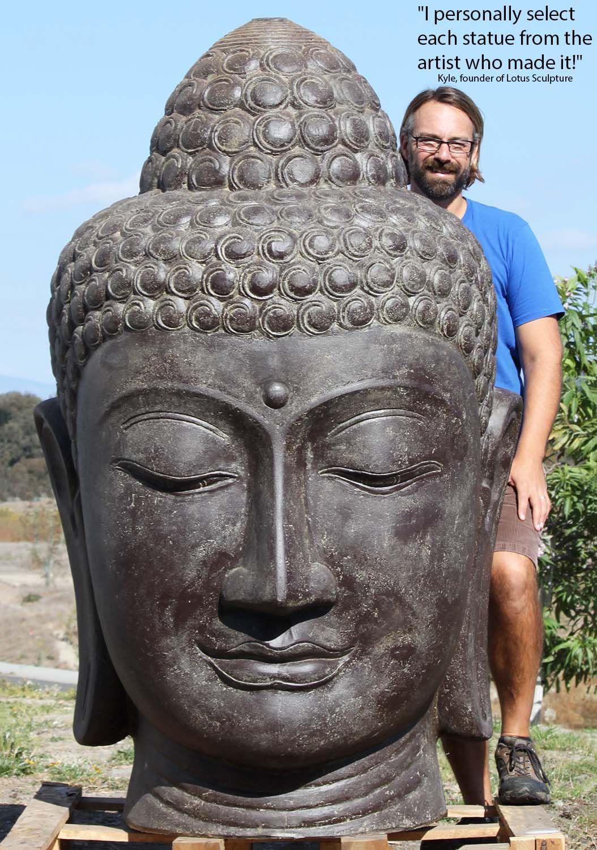 Preorder Large Buddha Outdoor Garden Fountain Statue 72 Buddha Statue Thai Buddha Statue