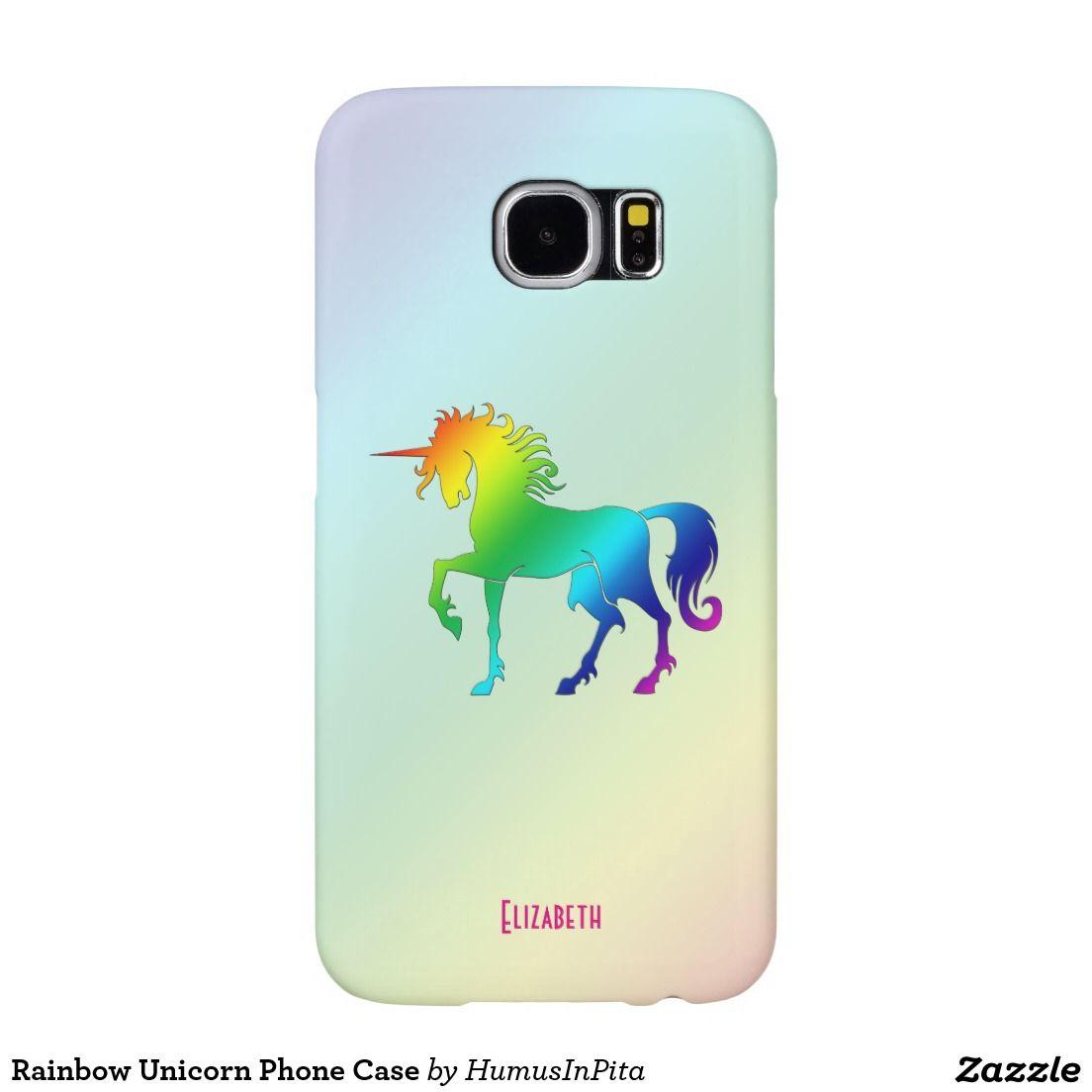 Rainbow Unicorn Phone Case Samsung Galaxy S6 Cases