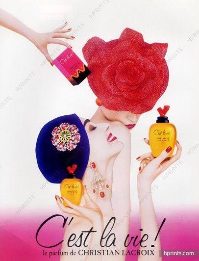 Christian Lacroix Parfyumy 1990 C Est La Vie Christian Lacroix C Est La Vie Perfume
