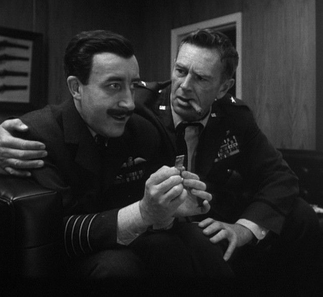 Peter Sellers As Dr Strangelove In Dr Strangelove Or: Peter Sellers & Sterling Hayden, Dr. Strangelove(1964