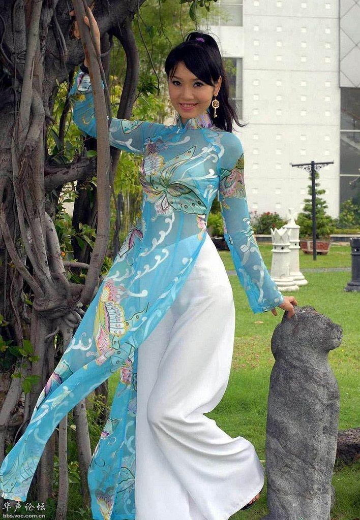 Pin by Lao Y on Ao D ai Vietnamese long dress