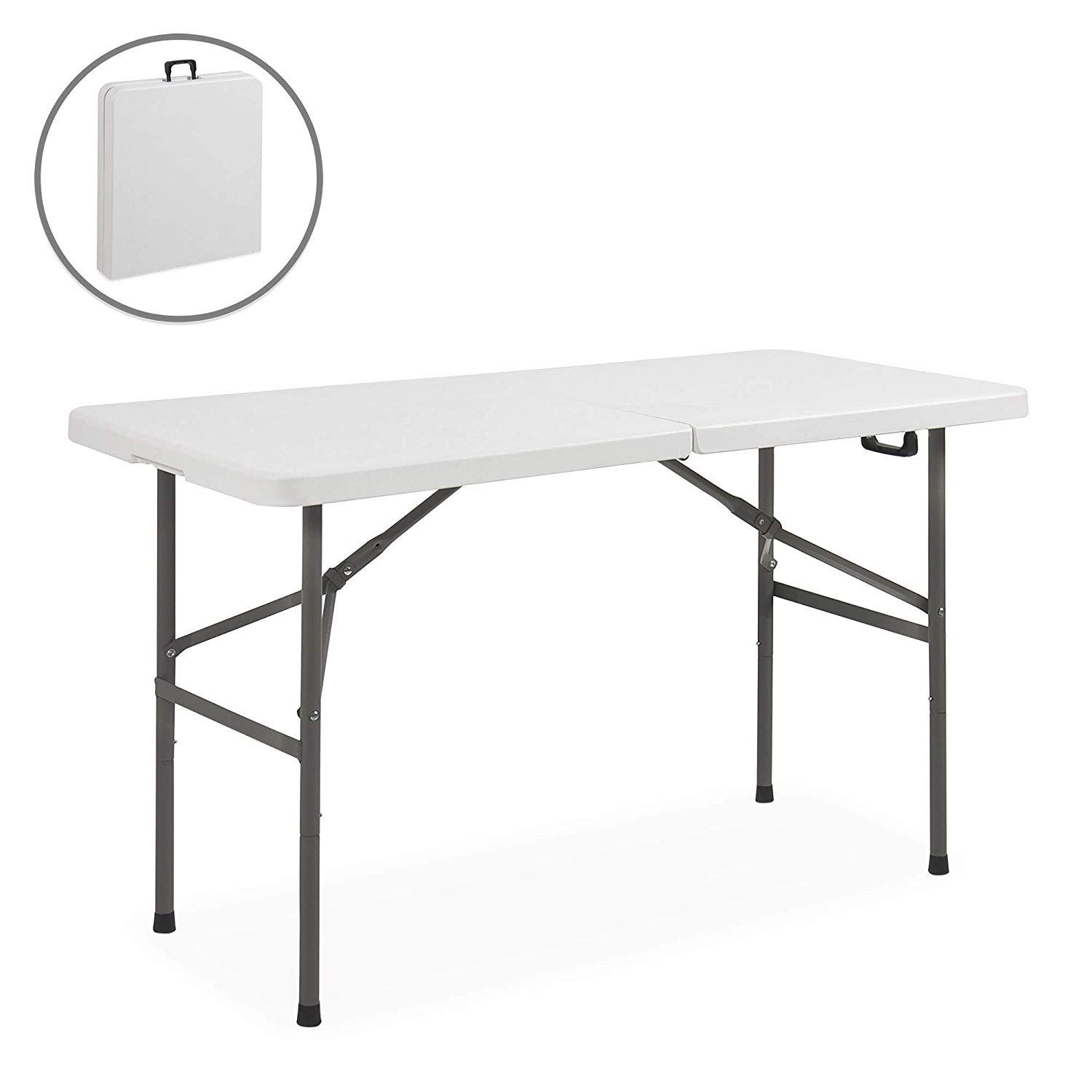 44 99 Portable Plastic Indoor Outdoor Picnic Party Dining Camp Tables Folding Table Camping Table Outdoor Folding Table
