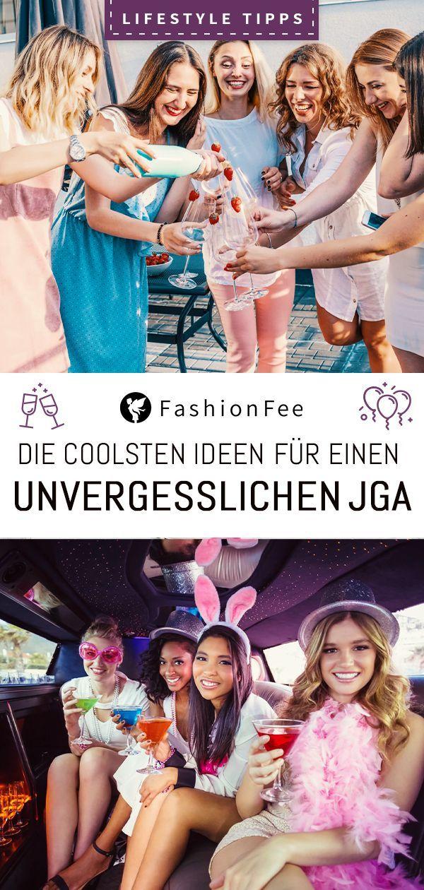 Junggesellinnenabschied: Ideen für einen unvergesslichen JGA!