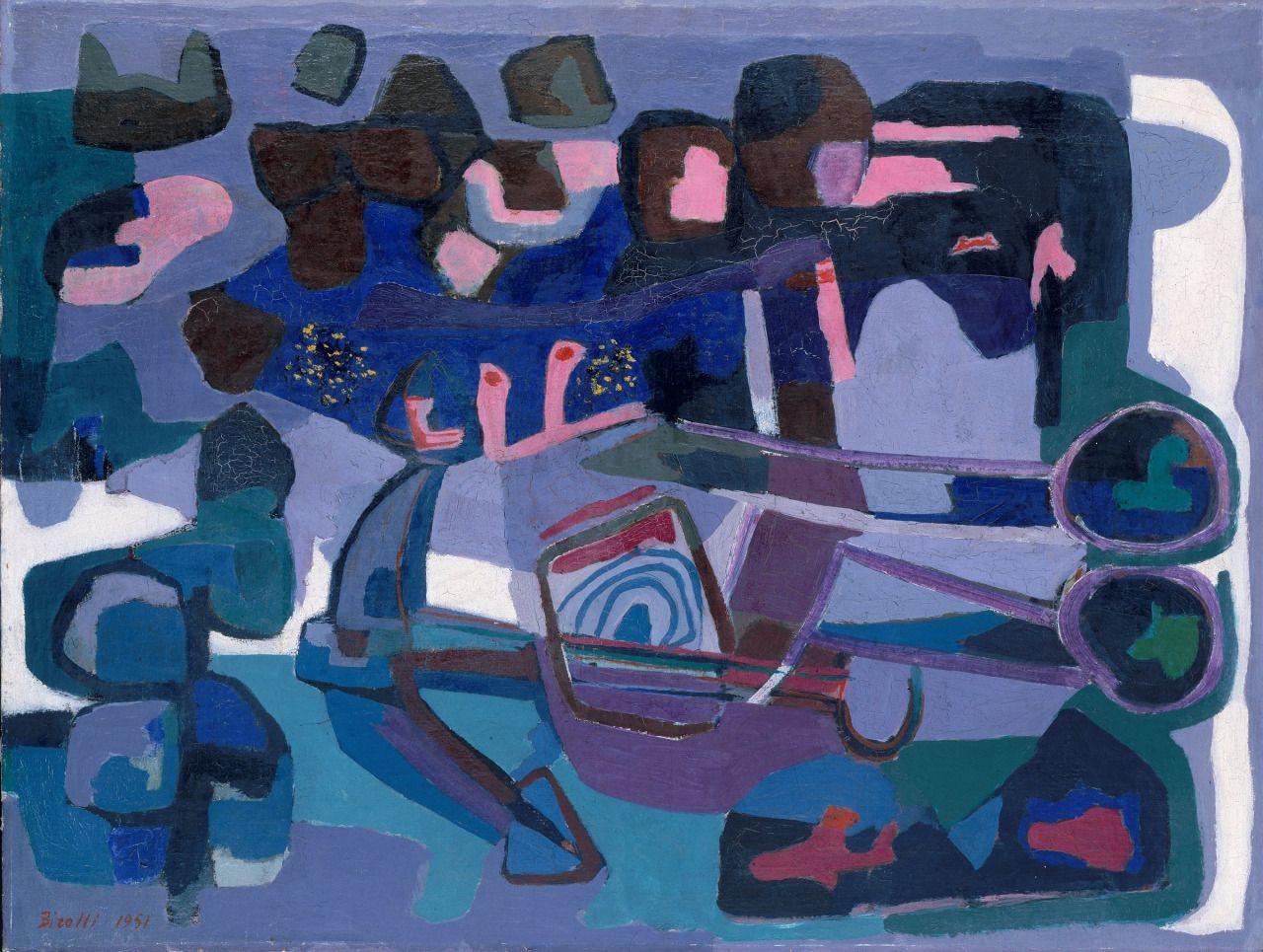 artexpansion:  Renato Birolli, Leggenda di mare, 1951