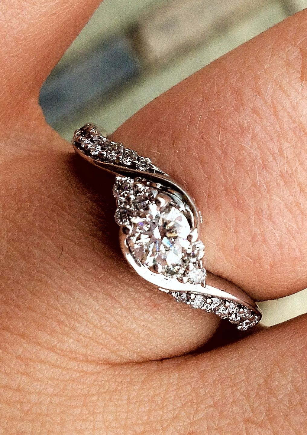 Kevin Jewelers Where Chris found Katies beautiful engagement ring