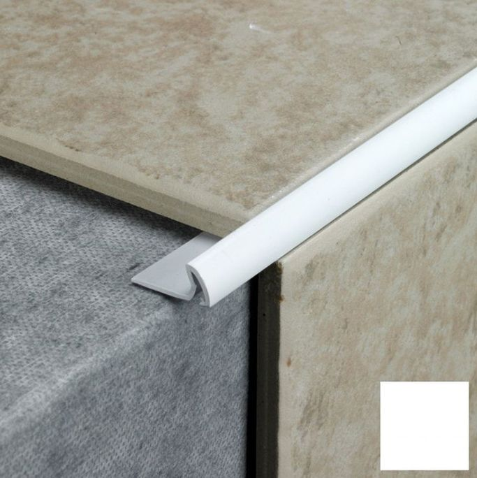 How to finish tile edges and corners tile trim kitchen for Floor edge trim