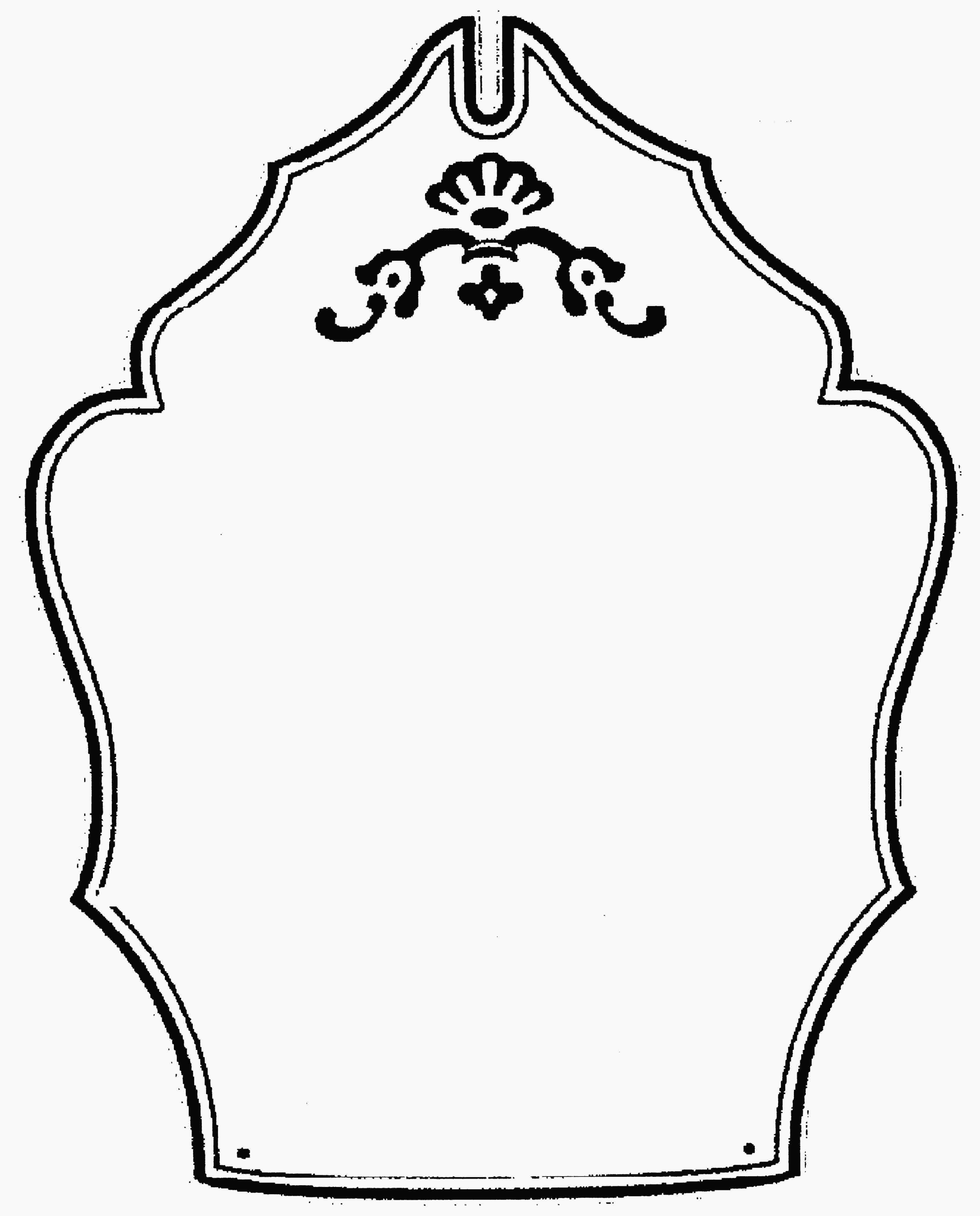 blank shield logo blank shield template clip art free