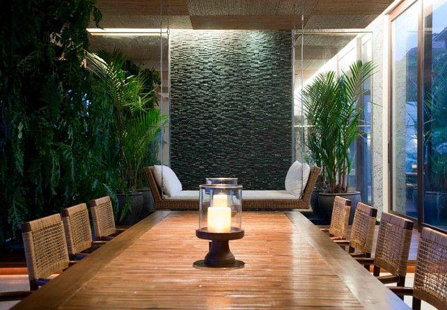 7 Best Home Designs Using Indoor Waterfalls Indoor Waterfall Waterfall Wall Garden Waterfall