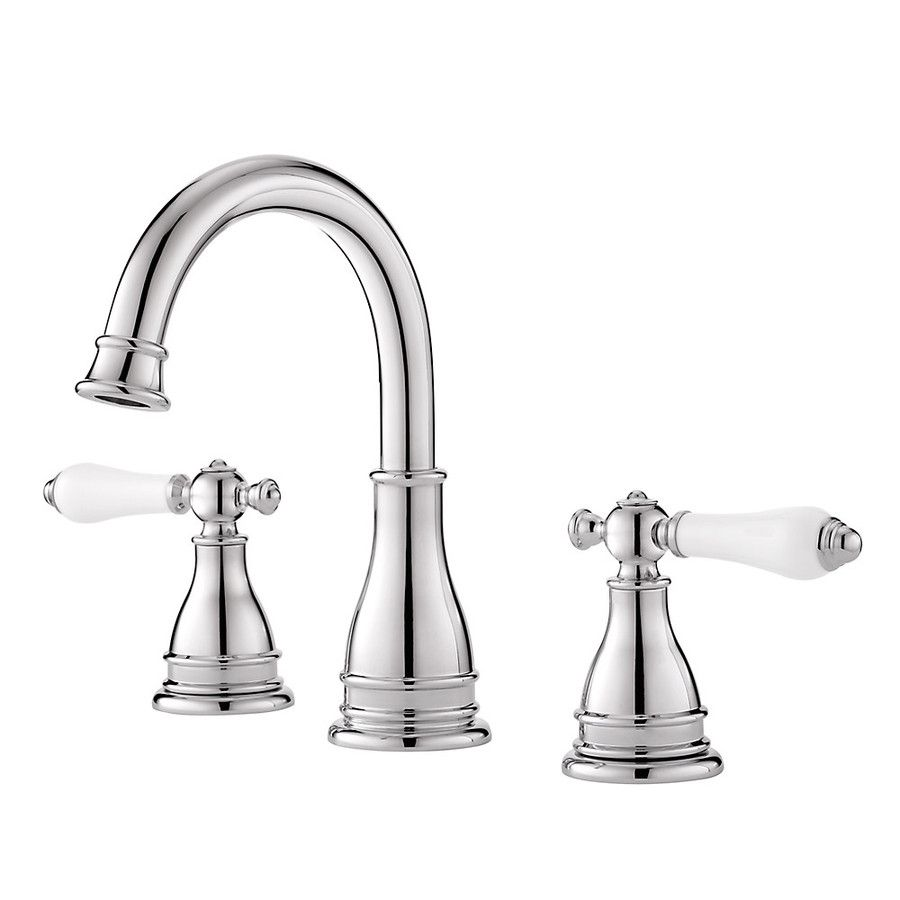 Shop Pfister Sonterra Polished Chrome 2-Handle Widespread Watersense ...