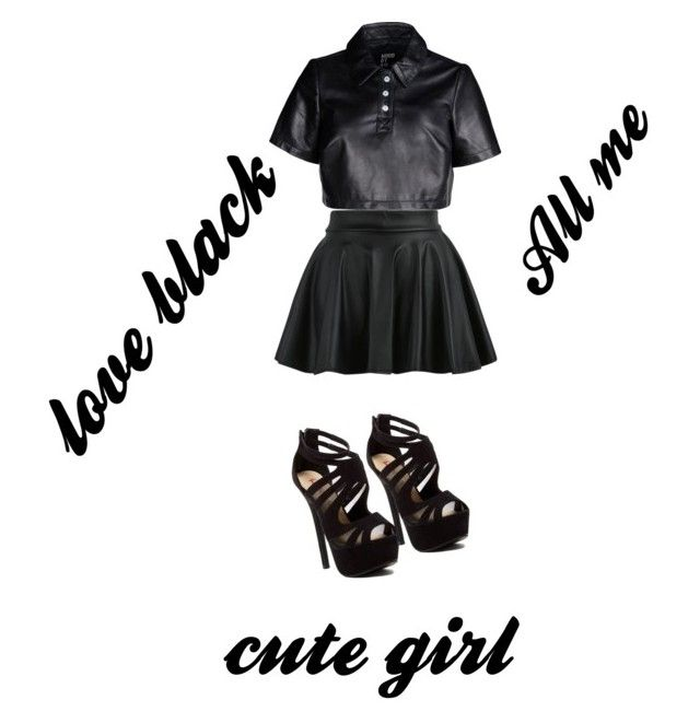 """""""cute"""" by sariahmoore ❤ liked on Polyvore"""