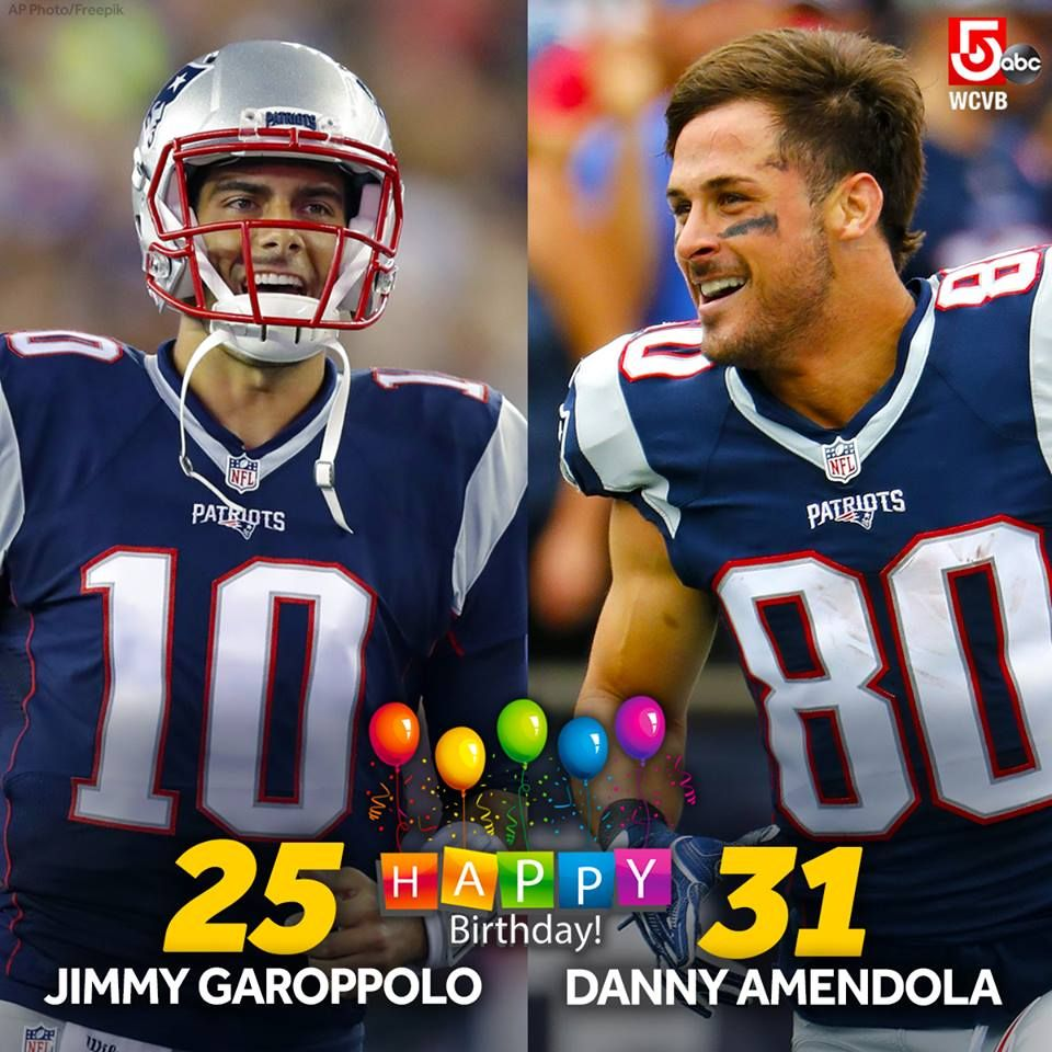 11 2 Happy Birthday Wishes To These Two Great New England Patriots New England Patriots Cheerleaders New England Patriots Memes New England Patriots Football
