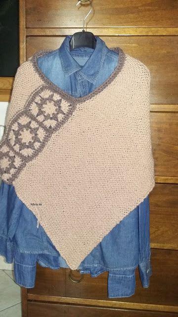 I gomitoli di silvia: poncho uncinetto e maglia