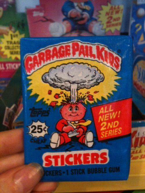 Haha I Loved These Garbage Pail Kids My Childhood Memories Childhood Memories