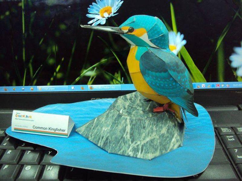 Minature Oiseaux - miniatures et petits objets - Maquette architectural - Fait Maison
