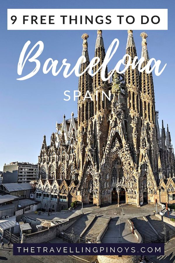 9 Free Things To Do In Barcelona, Spain Barcelona travel