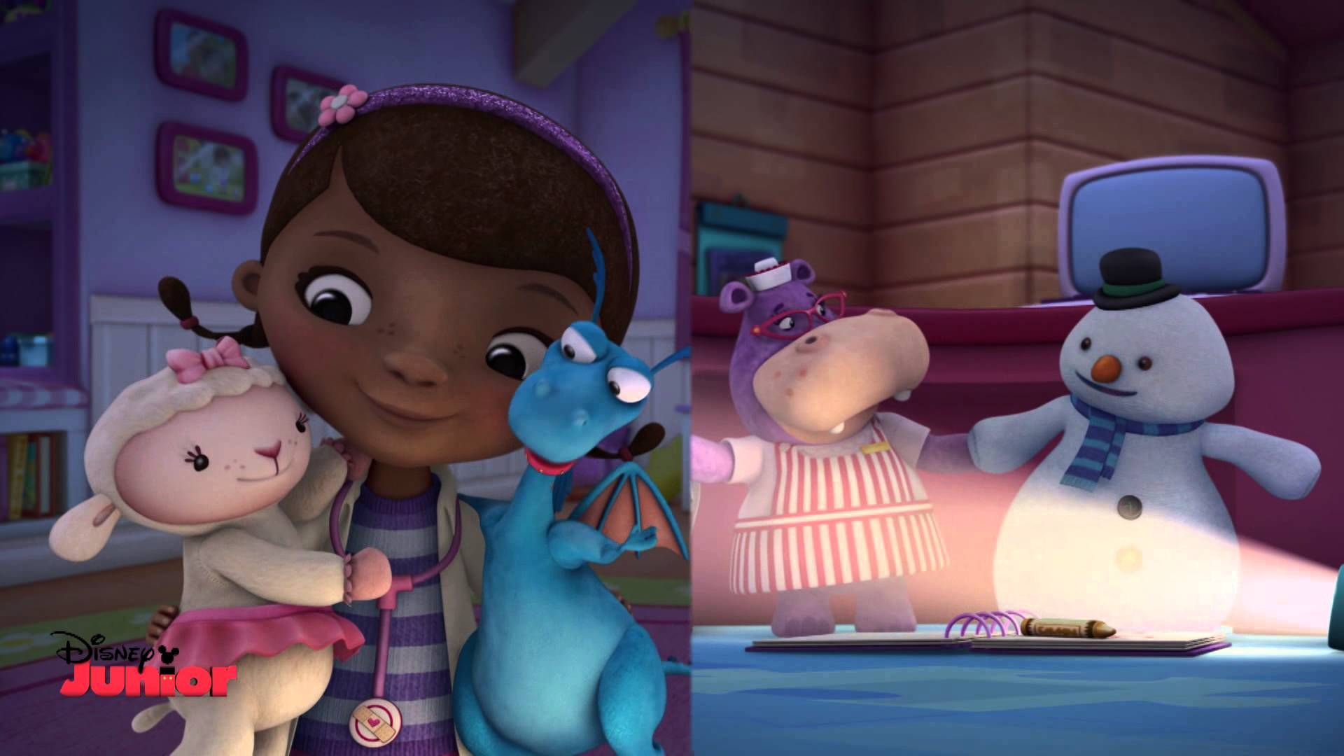 Doc McStuffins - The Big Storm - Song - Official Disney Junior ...