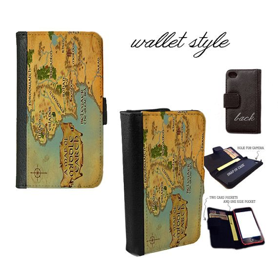 iPhone and Galaxy leather wallet case  Lord of the Rings LOTR