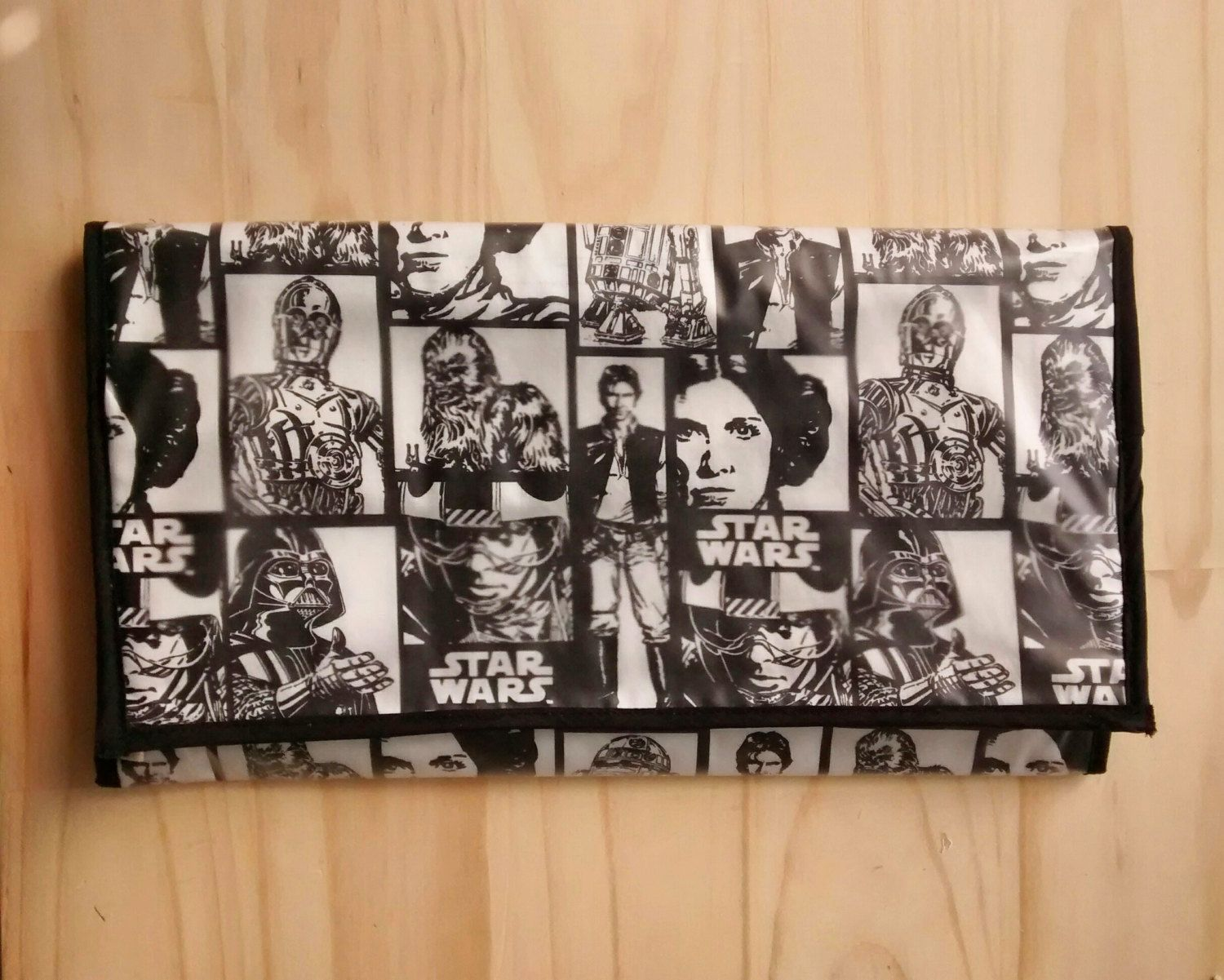 Star wars unisex portable change mat. Fits in nappy bag. Both sides wipeable by lizijCreates on Etsy