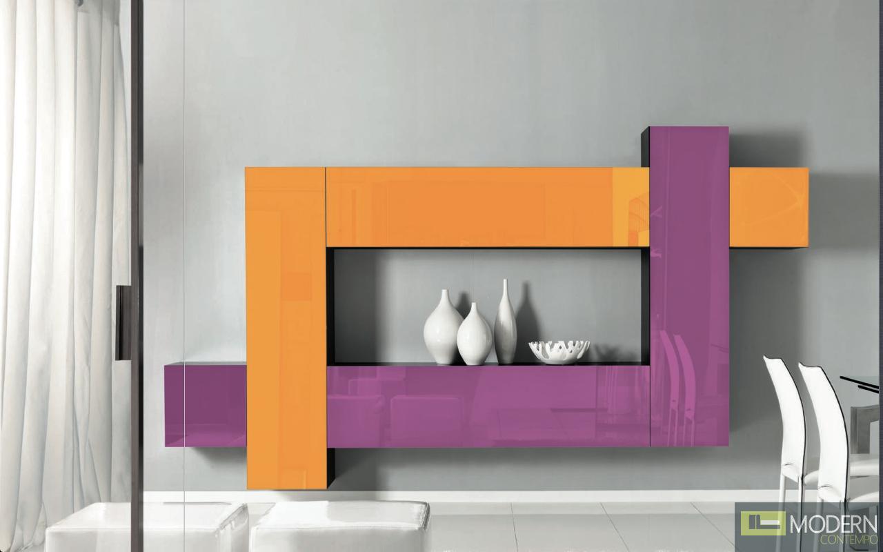 Customizable modern contemporary wall unit entertainment center. $8,999.99 #wallunit #entertainmentcenter #zuritalia