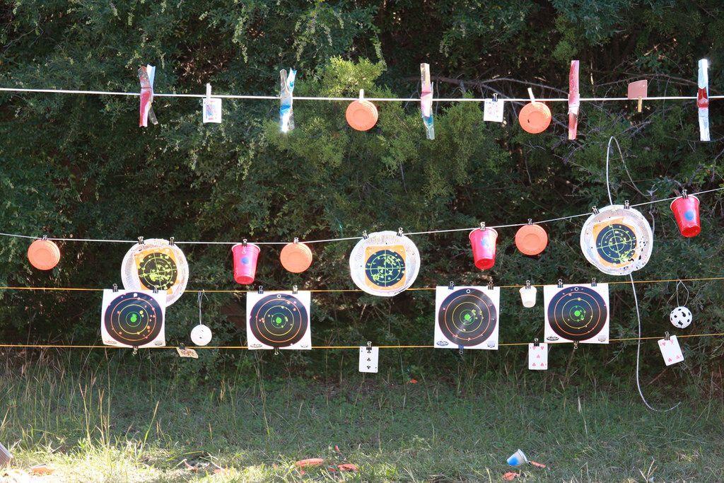 Image showing round Target Kit
