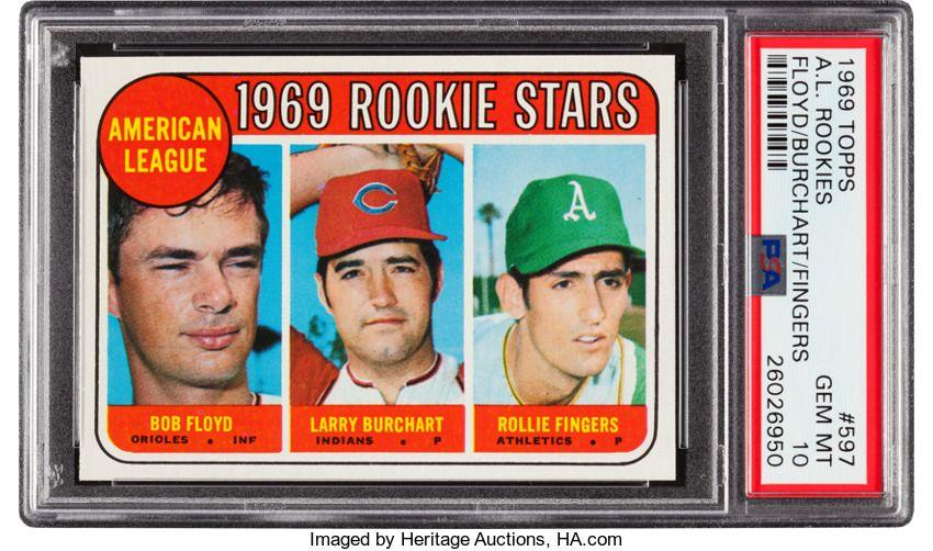 Baseball cardssingles 19601969 1969 topps rollie