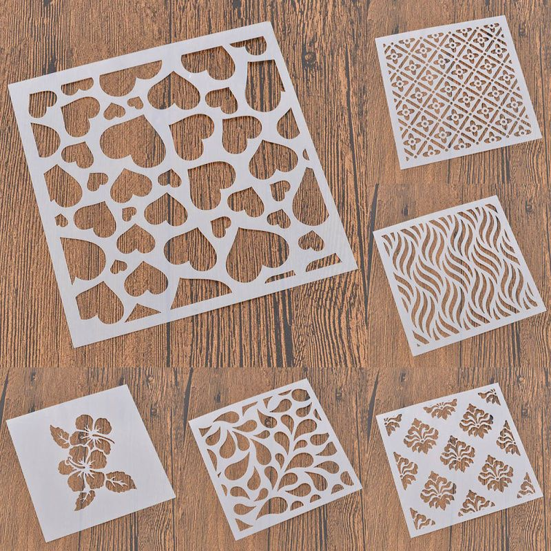 Designs Drawing Stencil Wall Decoration Template Scrapbooking Spray Painted Diy Drawing Stencils Stencil Designs Stencils Wall