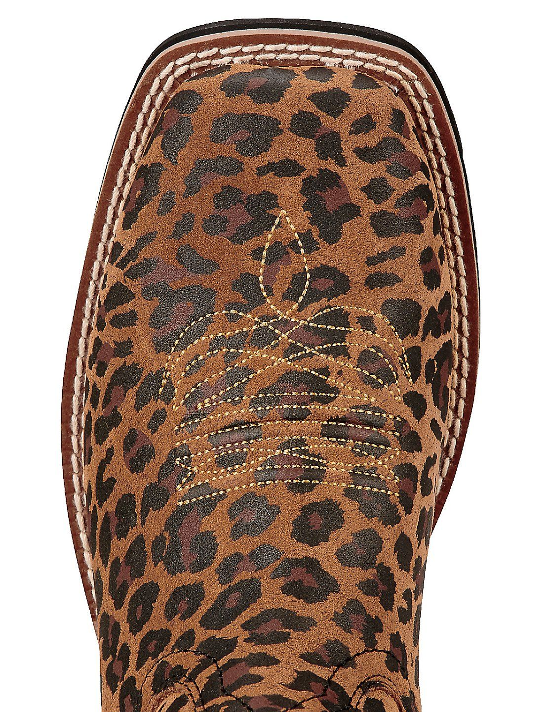 e555f744b1553d Ariat Fatbaby Heritage Women s Cheetah Print Square Toe Western Boots