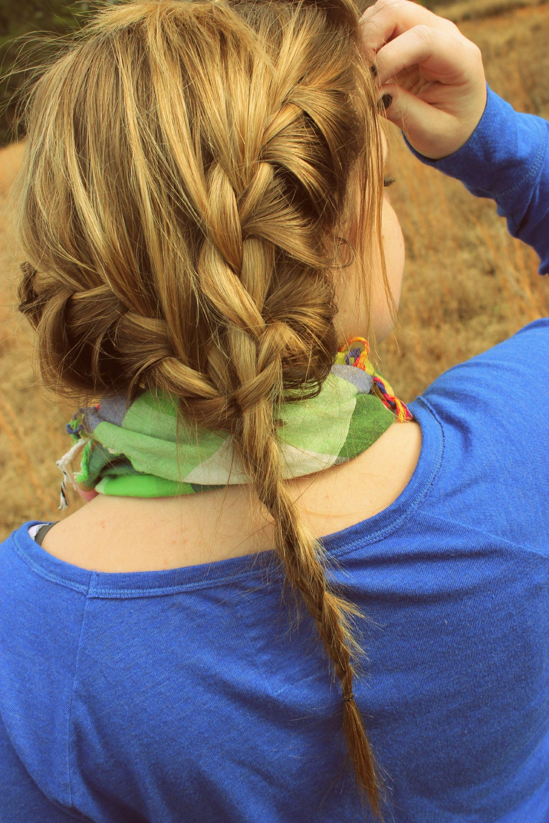 French Braid Hair Hairstyles Braid Frenchbraid Hair Styles Hairstyles For Thin Hair Braids For Thin Hair
