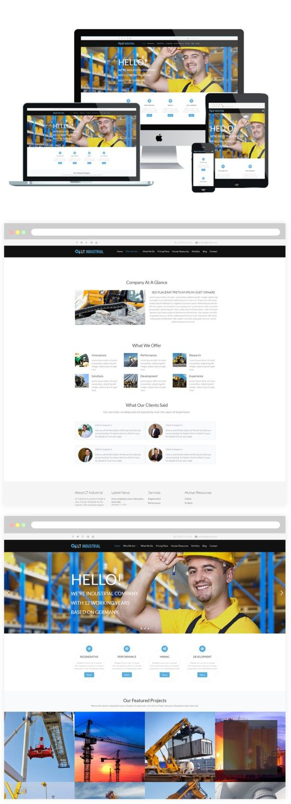 LT Industrial Wordpress Theme. WordPress eCommerce Themes. $29.00