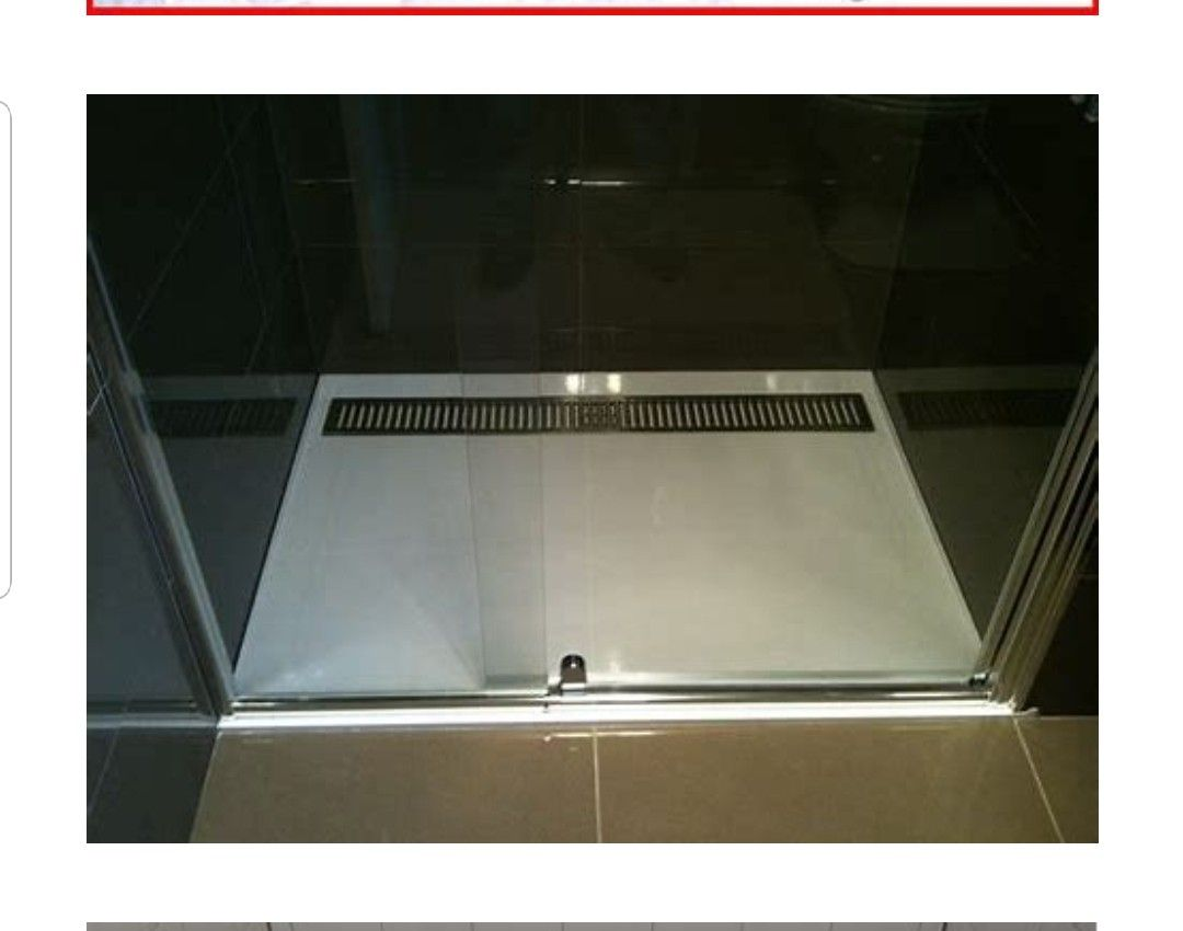 Best Bathroom Shower Pan With Tilted Drain Shower Pan 400 x 300