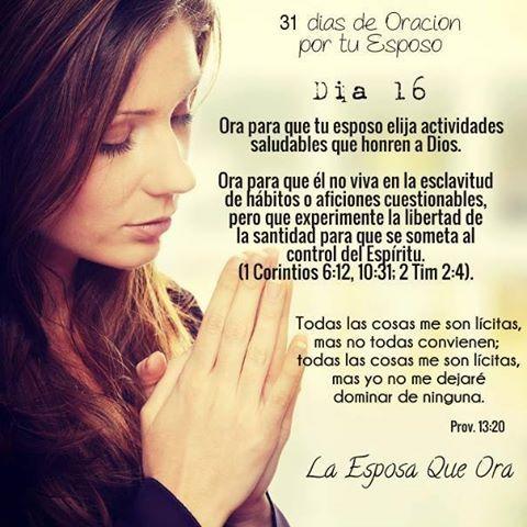 La Esposa Que Ora Added A New Photo La Esposa Que Ora Orar Por Mi Esposo Oración Por Esposo Oracion Para Mi Esposo