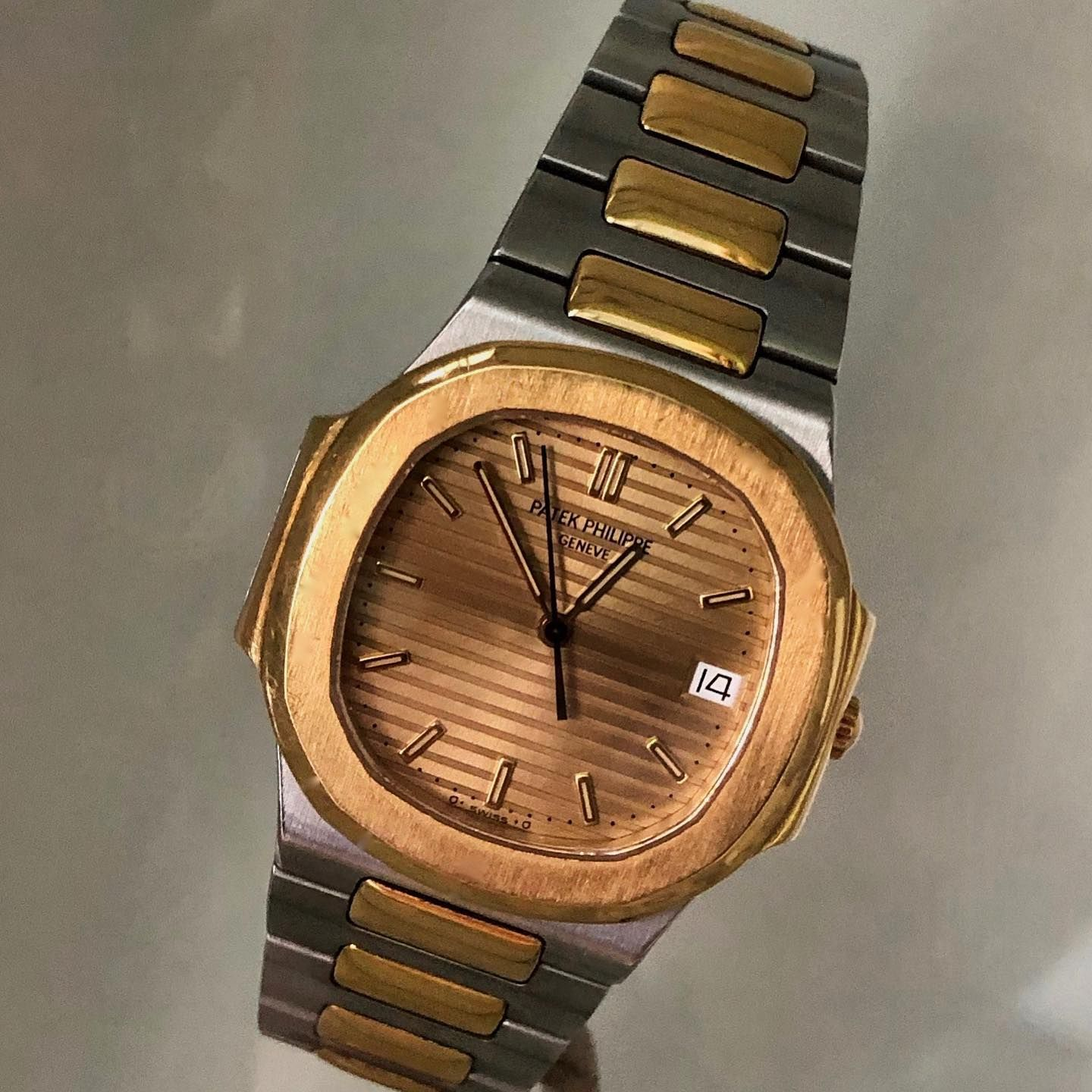 A Icon I Think The Watch Speaks For Itself Patekphilippe Pateknautilus Patekphilippenautilus Patekphillipe In 2020 Patek Philippe Nautilus Watch Ad Wood Watch