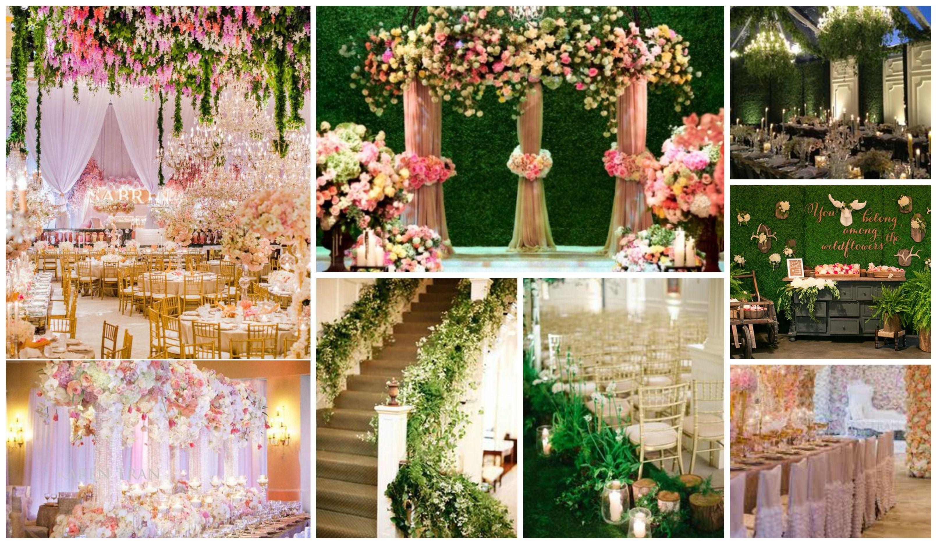 english garden themed wedding ideas | garden wedding