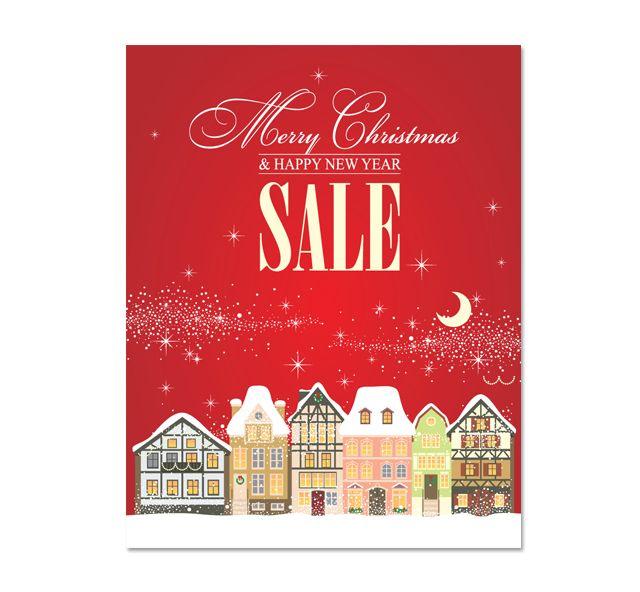 Christmas Sale Poster Template HttpWwwDlayoutsComTemplate