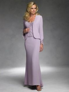 Lavender Mother of the Bride Gowns
