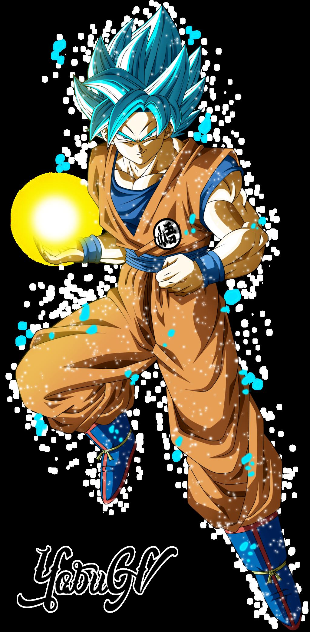 Goku Ssj Blue By Yobugv Dragon Ball Super Goku Dragon Ball Goku Goku Super Saiyan Blue