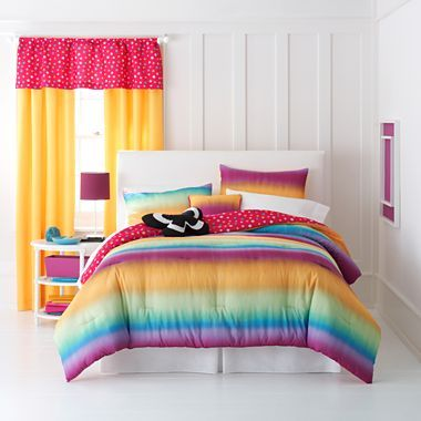 Total girl tie dye comforter set accessories jcpenney - Jcpenney childrens bedroom furniture ...