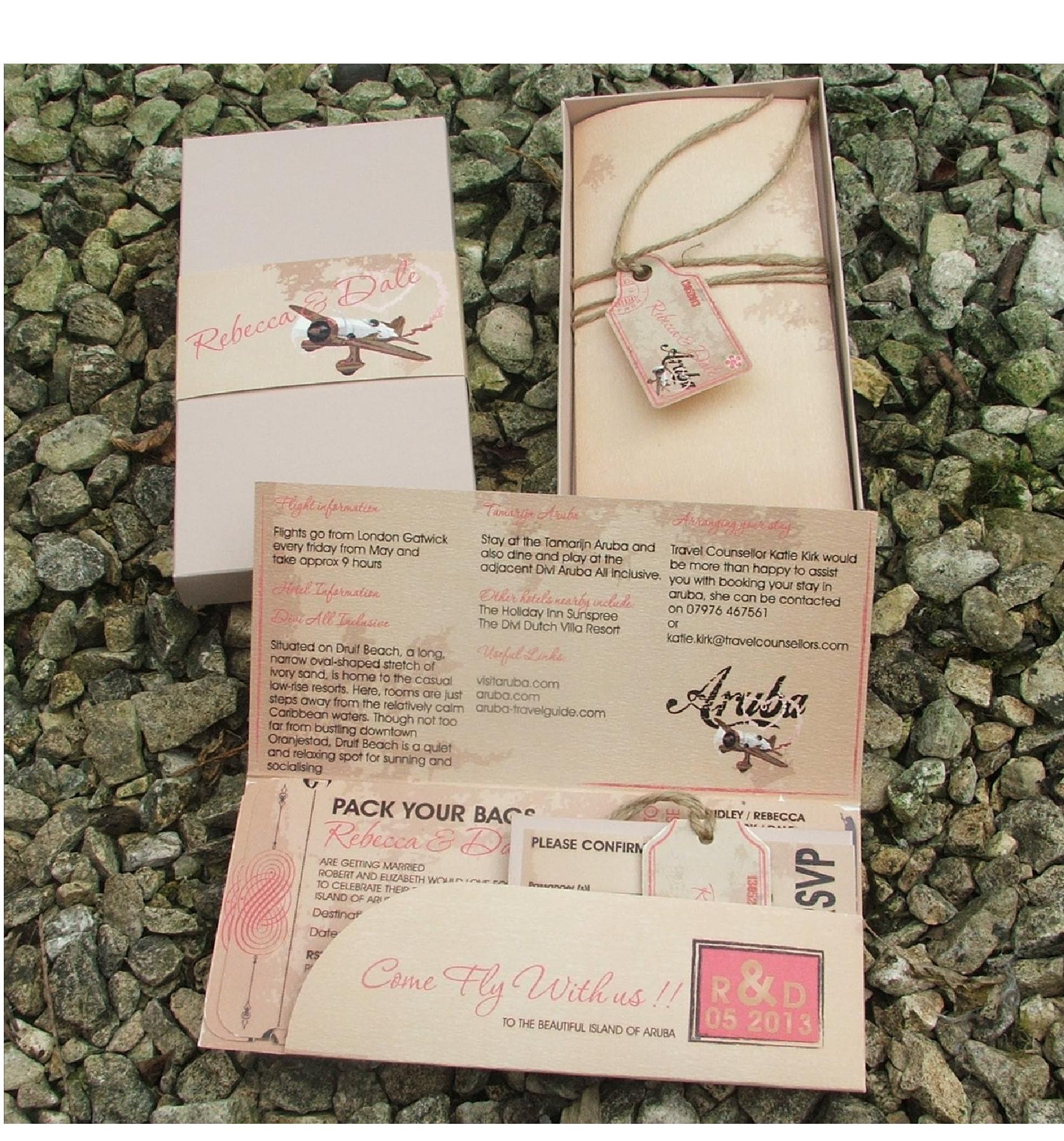 destination wedding inspirations | wedding, messages and passport, Wedding invitations