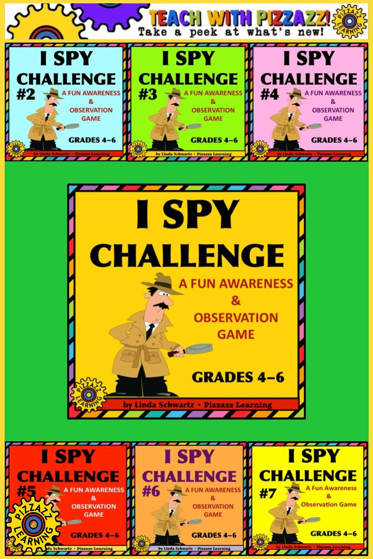 I Spy Awareness Observation Game Dictionary Skills Teaching I Spy [ 1440 x 960 Pixel ]