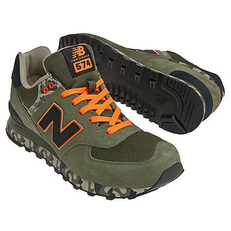 new balance nb 574 mono chroma military green