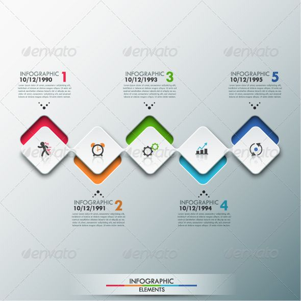 Modern Infographic Timeline Template  Infographic Template And