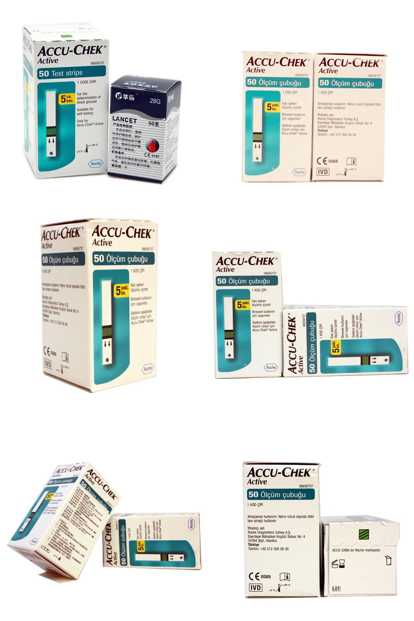 Visit To Buy Hot Sale Accu Chek Active Glucometer Blood Glucose Strip Meter Diabetes